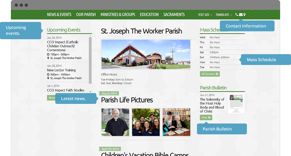 One-Stop Catholic Home Page